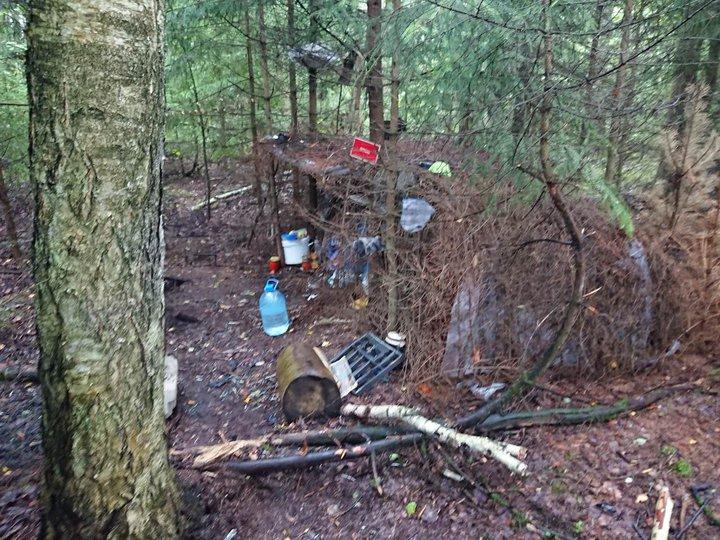 Минчанин два года скрывался в лесу от милиции