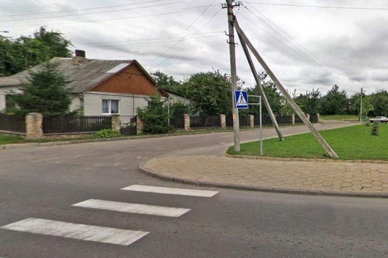 В Гродно разыскивают водителя, который наехал на ребенка и не остановился
