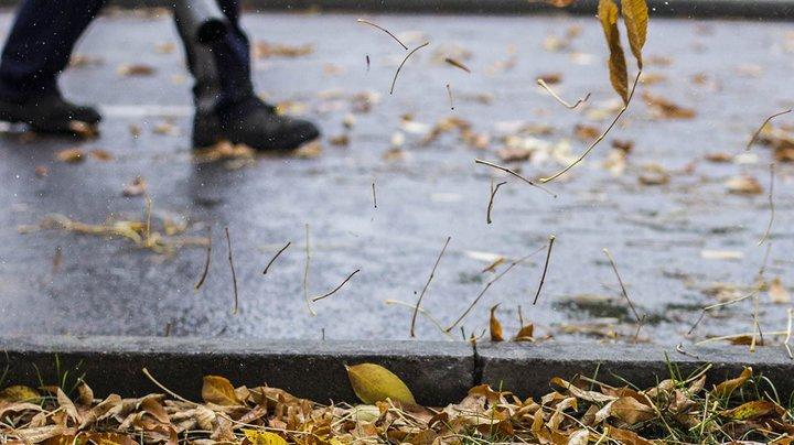 На 23-25 октября объявлен оранжевый уровень опасности