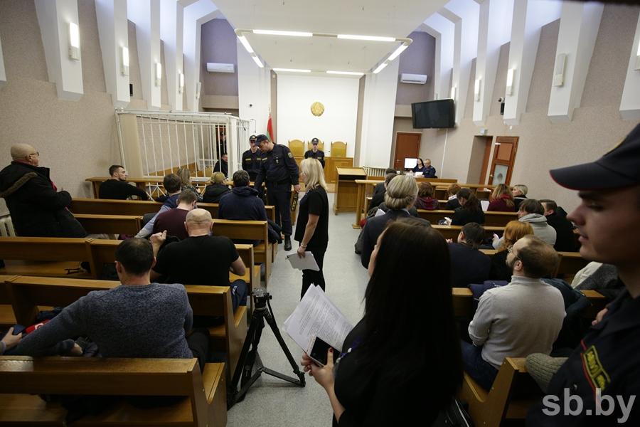 В Минске проходит суд над бывшим замминистра здравоохранения