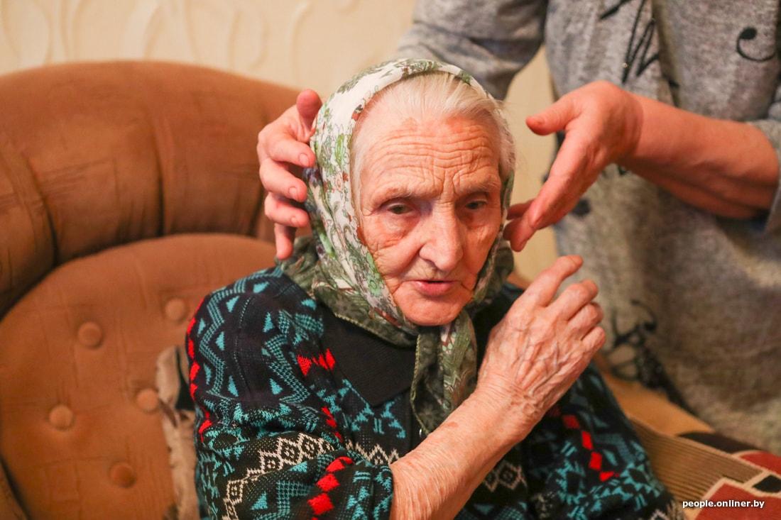 История 99-летней лидчанки, которая спортивнее, чем ты
