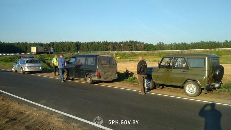 В Лидском районе задержали брестчанина, перевозившего нелегальных мигрантов