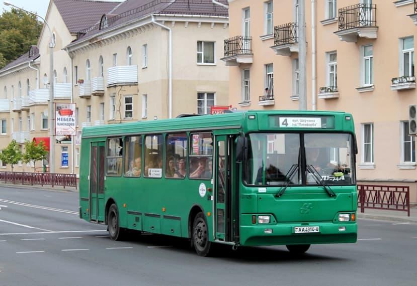 В связи с коронавирусом в Лиде с 16 апреля меняется расписание движения городского транспорта