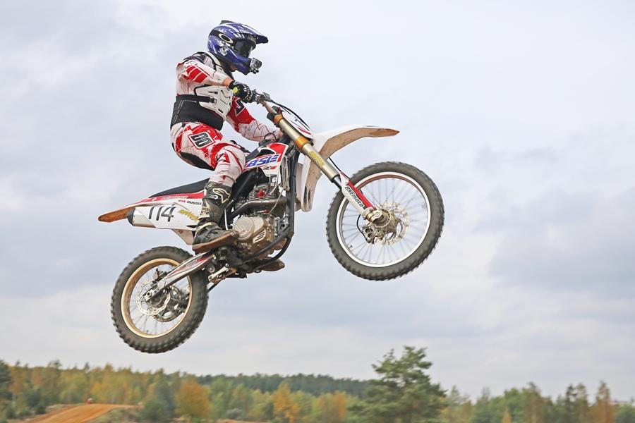 В Лиде прошёл мотокросс в рамках чемпионата страны