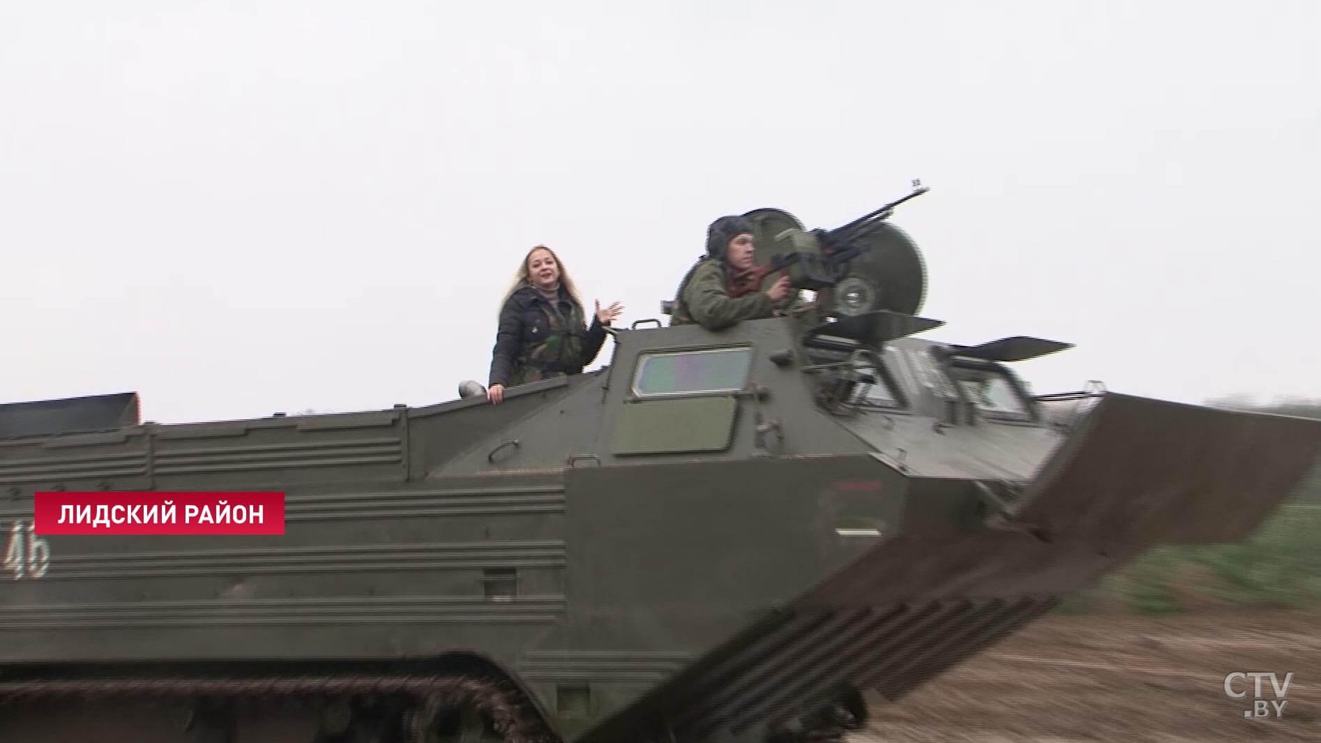 Под Лидой проходит оперативный сбор командного состава Вооружённых Сил