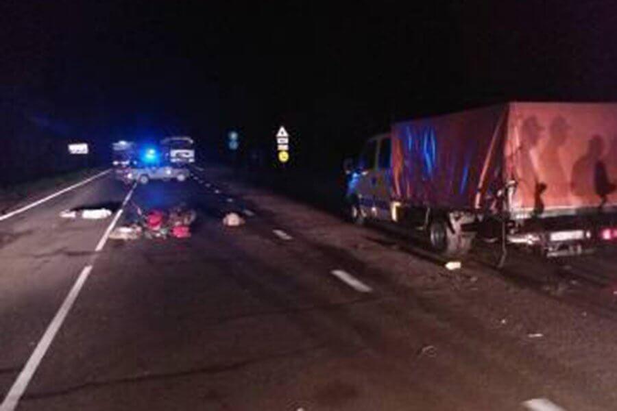 Под Лидой погиб 18-летний мотоциклист, 20-летняя пассажирка в реанимации