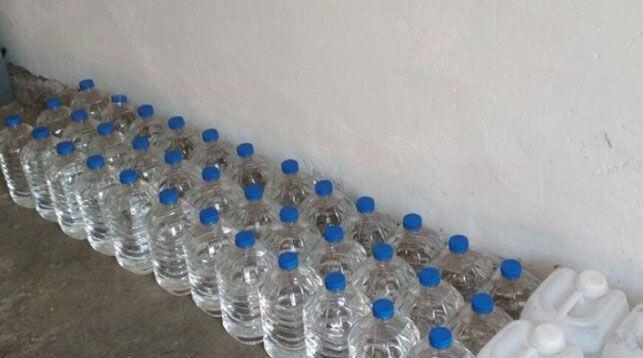 В Лиде задержали конфисковали свыше 200 л контрафактного спирта