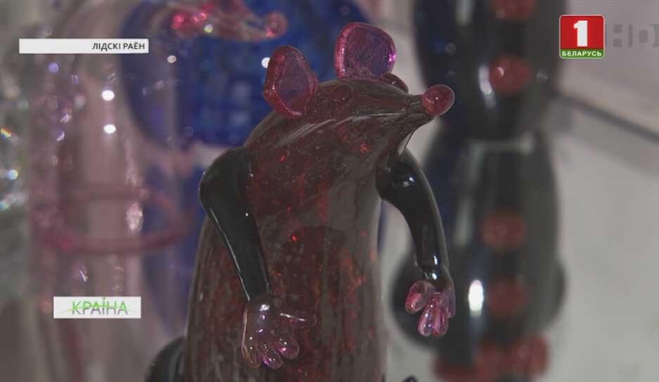 """На стеклозаводе """"Неман"""" начали выпускать стеклянных крыс и мышей ручной работы"""