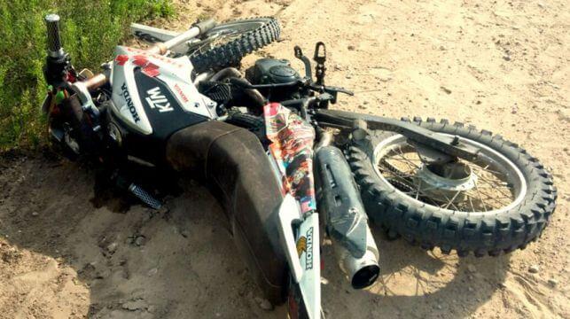 В ДТП под Лидой пострадал пьяный мотоциклист без шлема