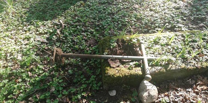 В Лиде вандалы разрушили более 30 старинных могил