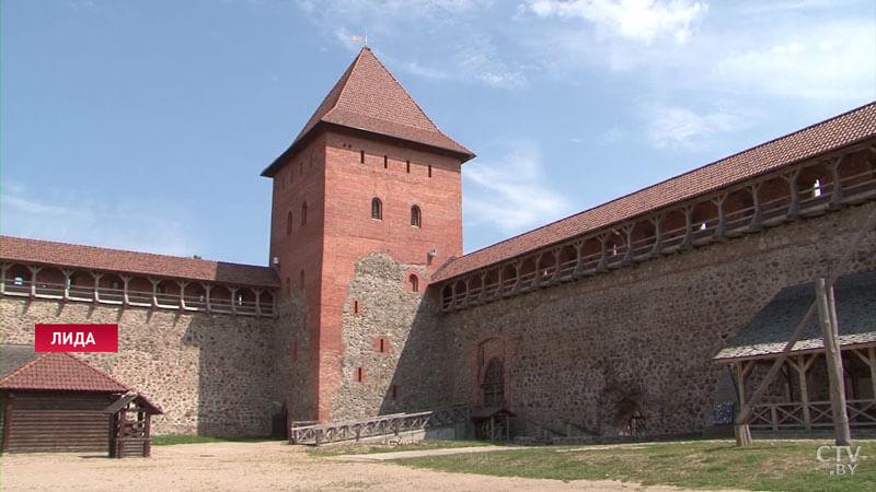 В обновлённом Лидском замке будут полы с подогревом и смотровая площадка