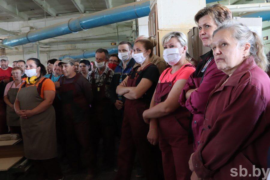 Заместитель Премьер-министра Юрий Назаров посетил восемь предприятий Лидского района