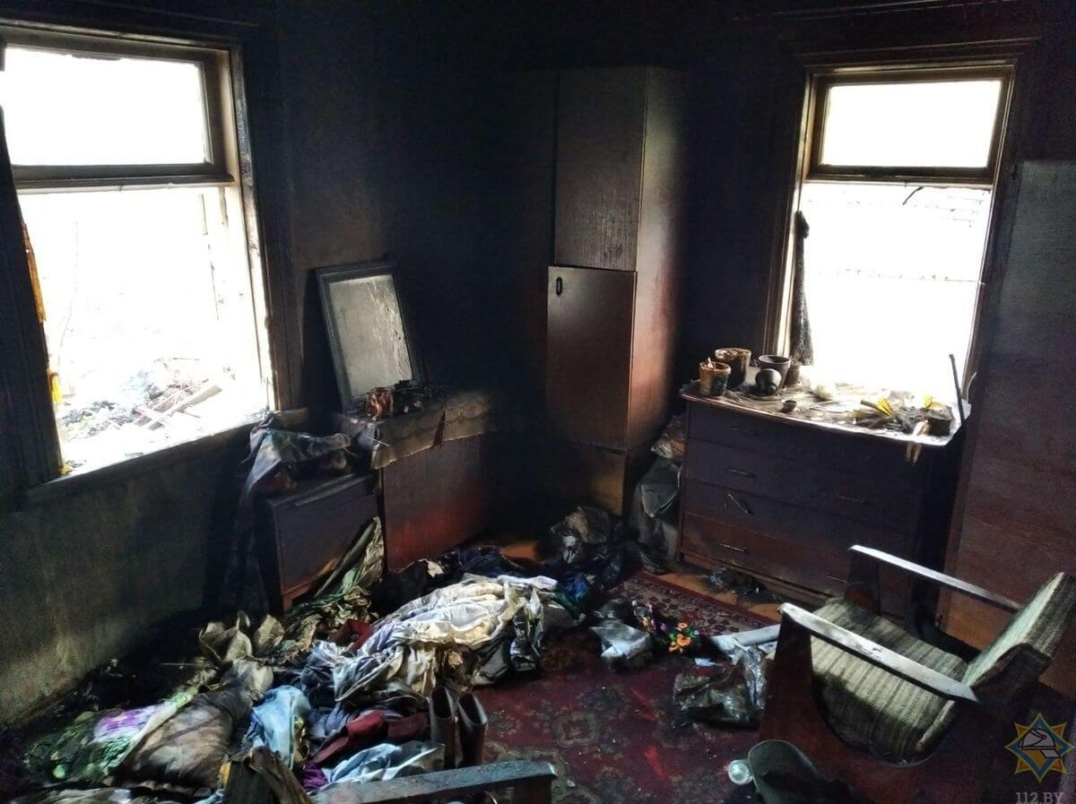 В Лиде на пожаре погибла семейная пара
