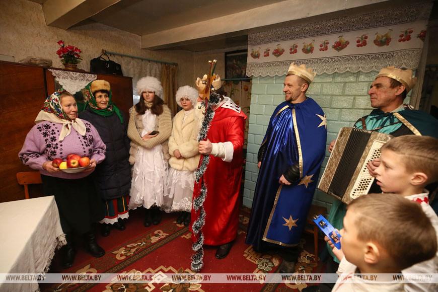 В Лидском районе возродили традицию обряда Трёх королей