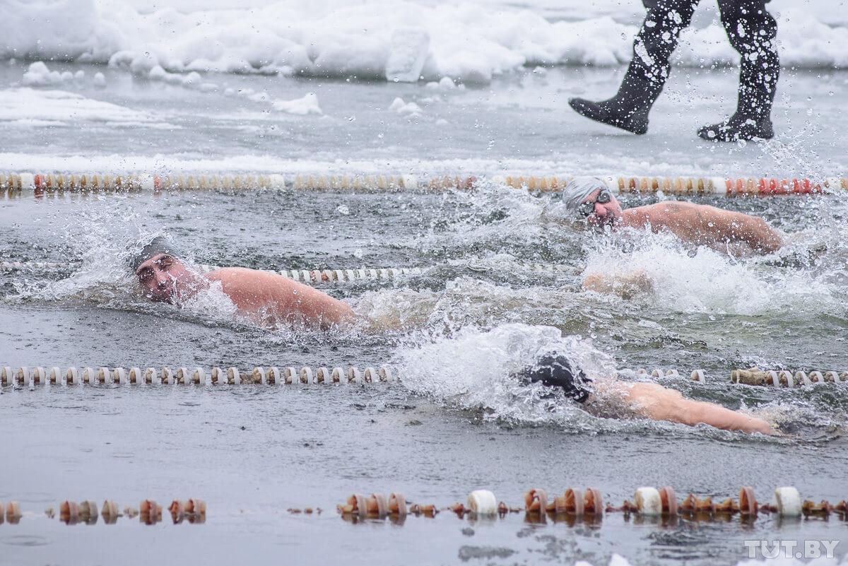 Турнир по зимнему плаванию пройдет в Лиде