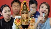 Жителям Гонконга Лидский квас напомнил сироп от кашля [ВИДЕО]