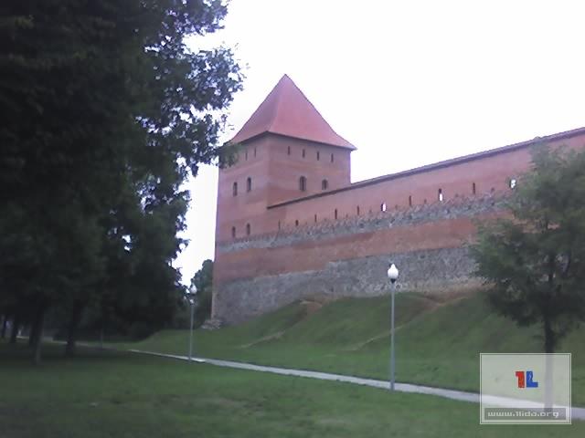 Лидский замок - август 2006