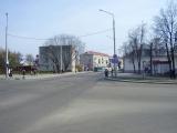 Скрыжаванне вуліц Міцкевіча і Савецкай